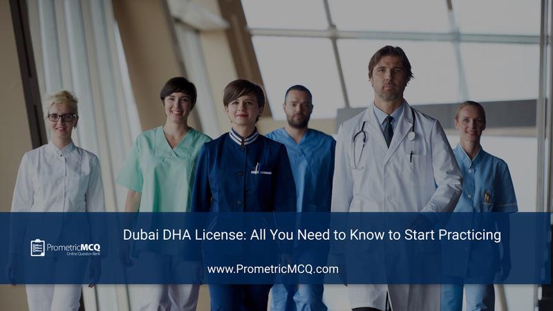 Dubai DHA License